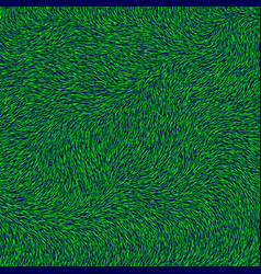 Green grass textured background vector