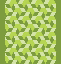 Green rhombus seamless vector