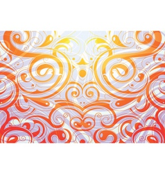Flourish background vector