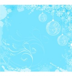 cool Christmas vector image