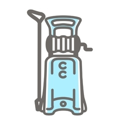 Icon of pressure washer vector