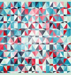 seamless abstract pattern with triangles vector image vector image