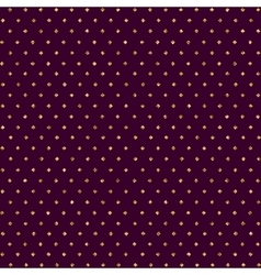 Seamless pattern with dots of gold and dark vector