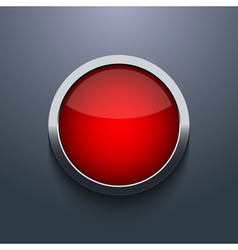 web button design on gray background Eps10 vector image vector image