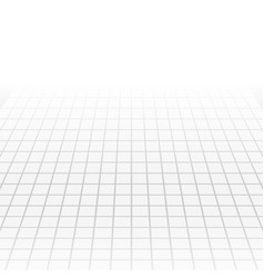 Grey tech abstract perspective background vector