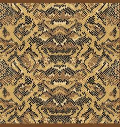 Abstract python snake skin wallpaper vector