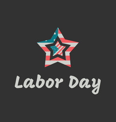 labor day banner vector image vector image