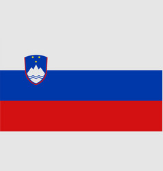 national symbol of slovenia flag vector image
