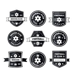 Team play in footbal vector