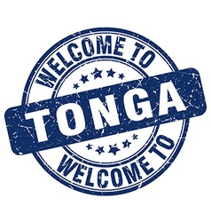 welcome to Tonga vector image vector image