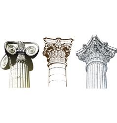 Columns set vector