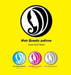 Hair beauty saloon vector