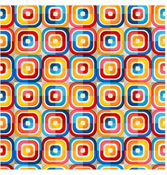 seamless colorful geometric pattern vector image vector image