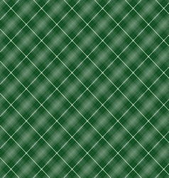 Seamless cross green shading diagonal pattern vector image