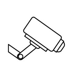 Surveillance security camera vector image vector image