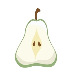 Fruit pear food vector