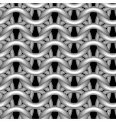 seamless tiling texture hauberk chain mail vector image