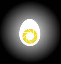 Food photography logo vector