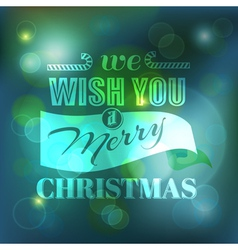 Christmas Card - Calligraphic Elements vector image vector image