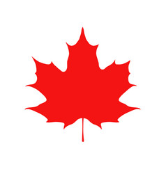 happy canada day card sticker for markets shops vector image vector image