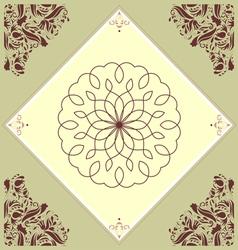 Kitchen tile vector