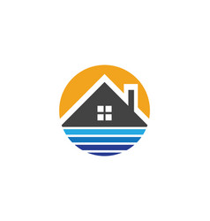 Real estate property and construction logo desig vector