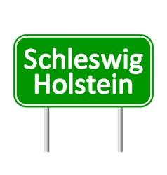 Schleswig-holstein road sign vector