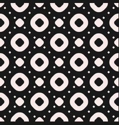seamless pattern with circles rings and dots vector image