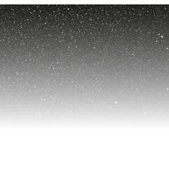 White snow falling on dark background vector