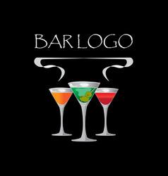 Bar black vector