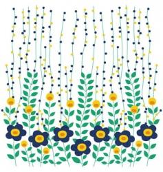 botanical garden background vector image