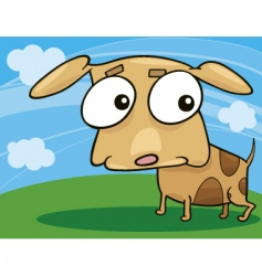 cute doggy vector image vector image