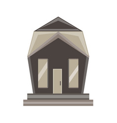 Home icon house isolated real estate residential vector