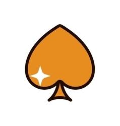 icon casino design vector image
