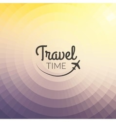 Summer travel design blurred pixelate background vector