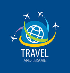 Travel logo vector