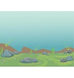Underwater aquarium vector image vector image