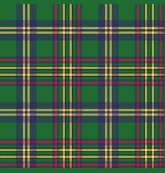 green tartan classic seamless pattern vector image