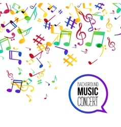 Music background musical background with musical vector