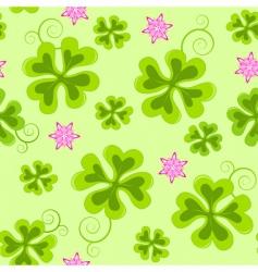 saint Patrick's day seamless pattern vector image vector image