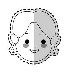 boy cute cartoon icon image vector image vector image