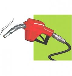 fuel hose vector image