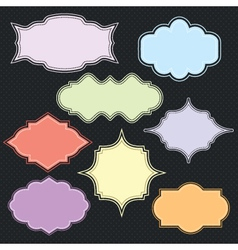 Border collection vector