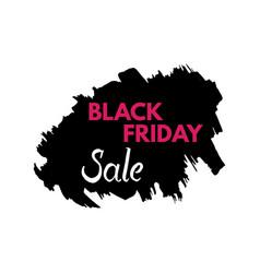 Black friday grange texture sale banner price tag vector