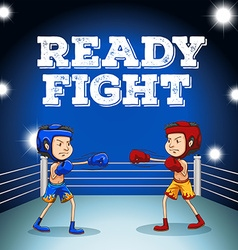 Read to fight design vector