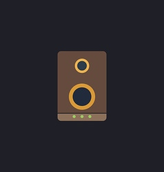 speaker computer symbol vector image