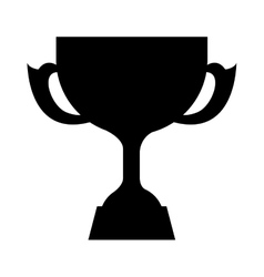 trophy award icon vector image vector image