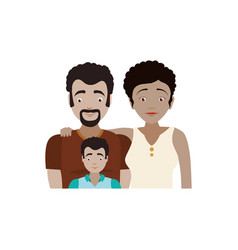 Couples relationship family child vector