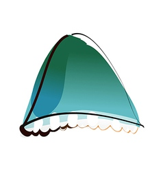The tent vector image