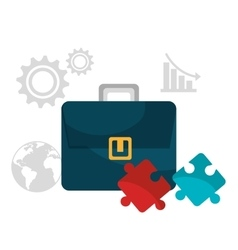 Business solutions icons vector